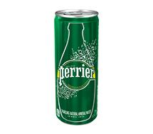 Perrier Sparkling Sleek Can 330ml Original