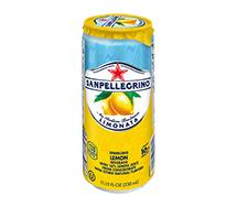 SANPELLEGRINO Sparkling Fruit Beverage Sleek Can 330ml Limonata (Lemon)