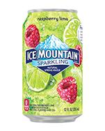 Ice Mountain Sparkling 12oz Can Pomegranate Lemonade