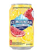 Ice Mountain Sparkling 12oz Can Raspberry Lime