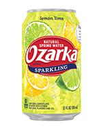 Ozarka Sparkling 12oz Can Lemon Lime
