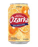 Ozarka Sparkling 12oz Can Orange