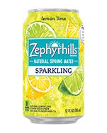 Zephyrhills Sparkling 12oz Can Lemon Lime