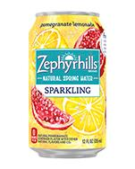 Zephyrhills Sparkling 12oz Can Pomegranate Lemonade