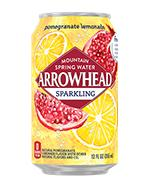 Arrowhead Sparkling 12oz Can Pomegranate Lemonade