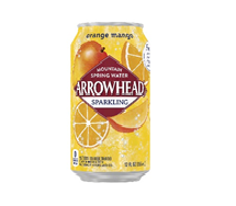 Arrowhead Sparkling  12oz Can Orange Mango
