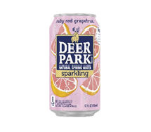 Deer Park Sparkling 12oz  Can Ruby Red Grapefruit