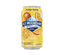 Ice Mountain Sparkling  12oz Can Orange Mango