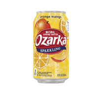 Ozarka Sparkling  12oz Can Orange Mango