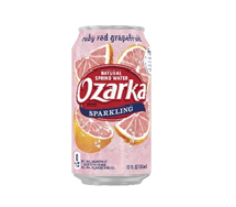 Ozarka Sparkling 12oz  Can Ruby Red Grapefruit