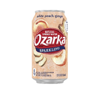 Ozarka Sparkling 12oz Can White Peach Ginger