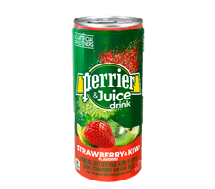 Perrier + Juice 330ml Kiwi Strawberry