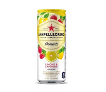 SANPELLEGRINO Momenti 330ml Lemon & Raspberry