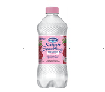 Splash Sparkling 20oz Raspberry Flavor