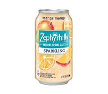 Zephyrhills Sparkling 12oz Can Orange Mango