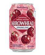 Arrowhead Sparkling 12oz Can Black Cherry