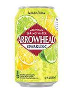 Arrowhead Sparkling 12oz Can Lemon Lime