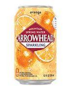 Arrowhead Sparkling 12oz Can Orange