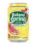 Poland Spring Sparkling 12oz Can Pomegranate Lemonade